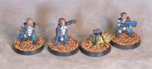 Dwarvember Grymn Troopers A